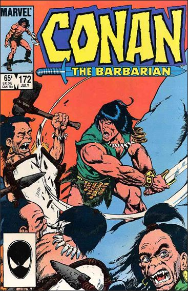 Conan the Barbarian (1970) 172-A by Marvel
