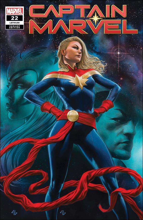 Captain Marvel (2019) 22-B by Marvel
