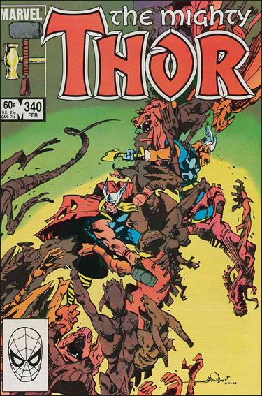 Thor (1966) 340-A by Marvel