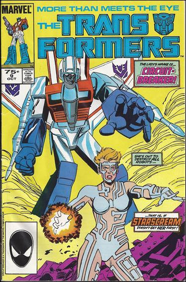 Transformers (1984) 9-B by Marvel