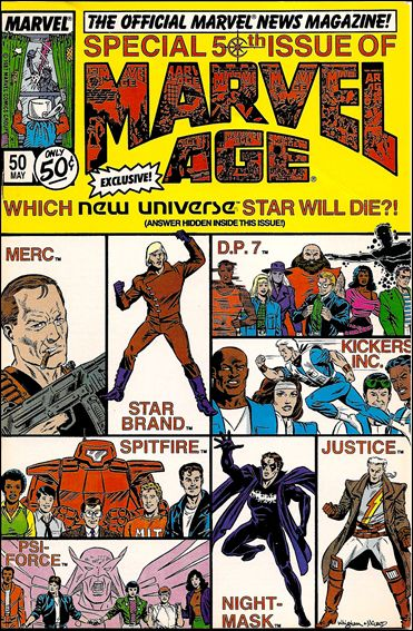 Marvel Age 50-A by Marvel