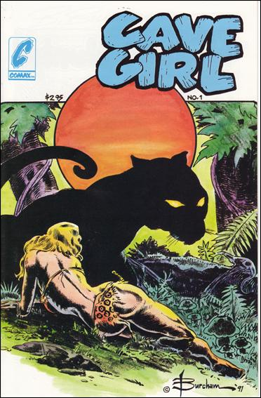 Cave Girl (1991) 1-A by Comax