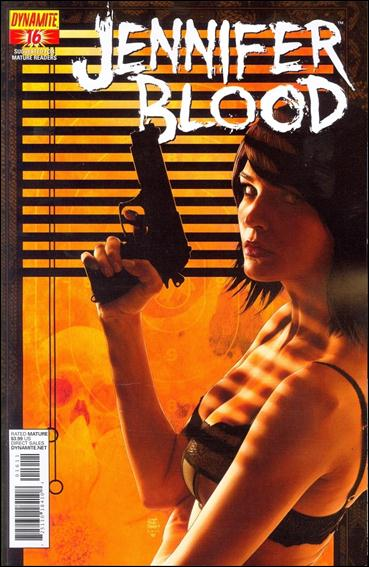 Jennifer Blood 16-A by Dynamite Entertainment