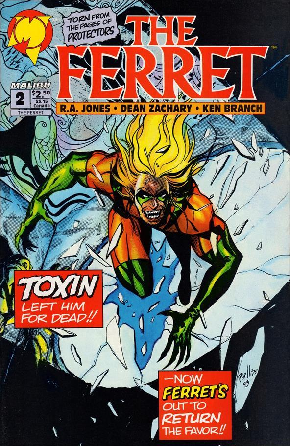 Ferret (1993) 2-A by Malibu