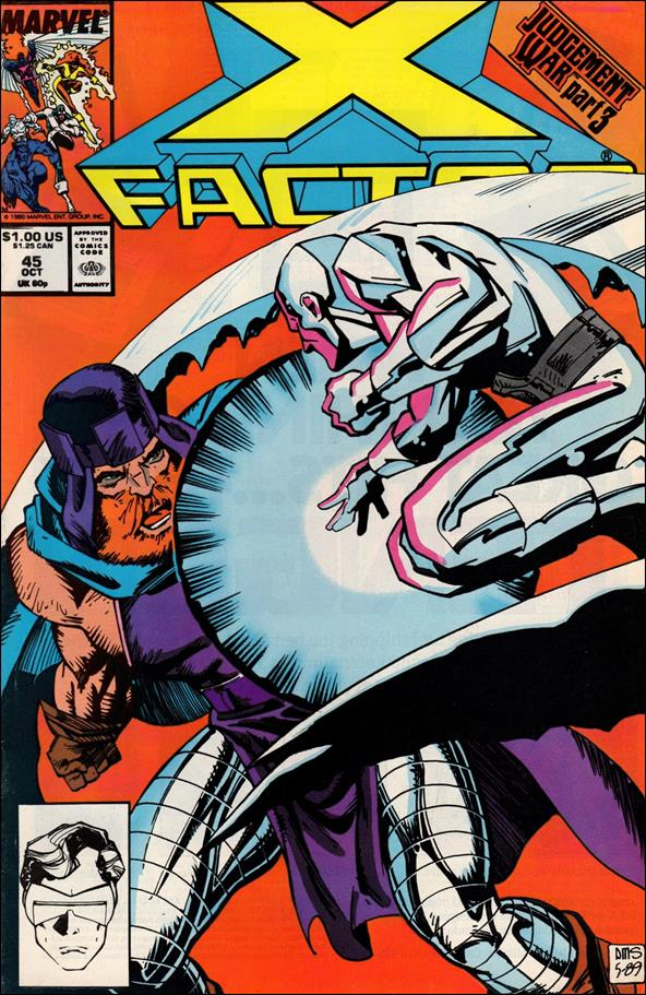 X-Factor (1986) 45-A by Marvel