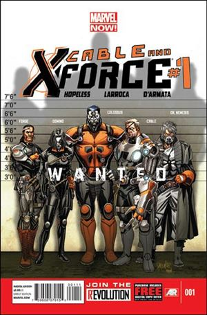 Cable and X-Force 1-A