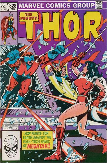 Thor (1966) 328-A by Marvel