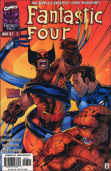Fantastic Four (1996) 7-A by Marvel