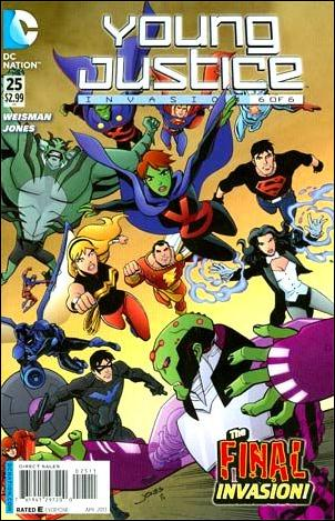 Young Justice (2011) 25-A by DC