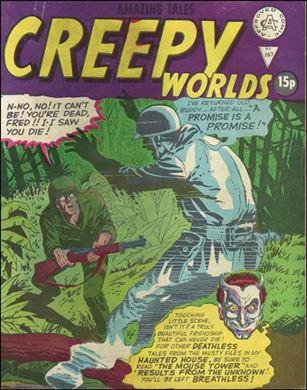 Creepy Worlds (UK) 167-A