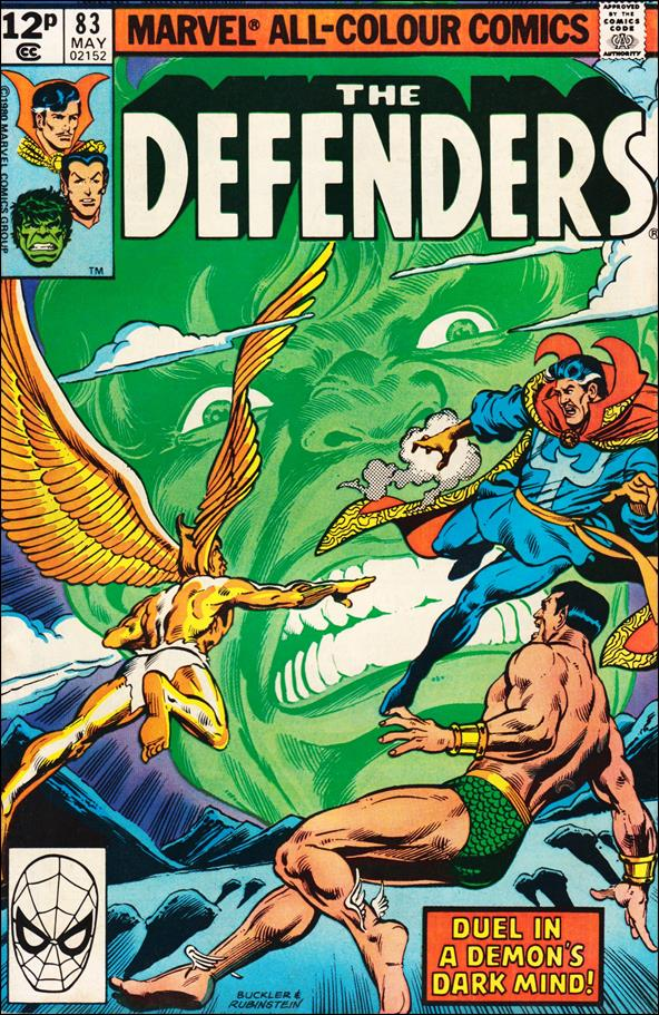 Defenders (1972) 83-B by Marvel