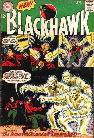 Blackhawk (1944) 201-A by DC