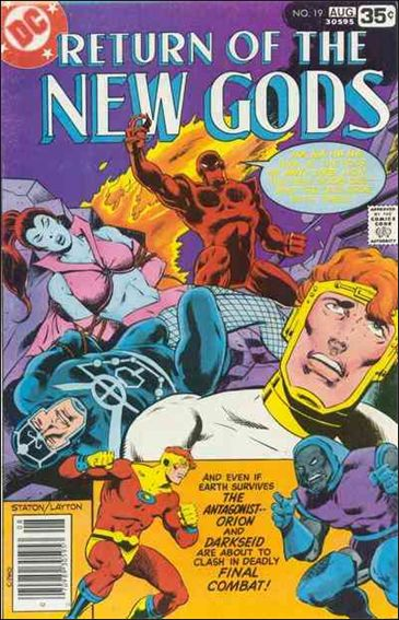 New Gods (1971) 19-A by DC