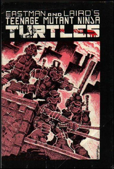 Teenage Mutant Ninja Turtles (1984) 1-B by Mirage