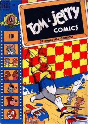 Tom & Jerry Comics 71-A