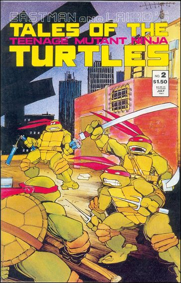 Tales of the Teenage Mutant Ninja Turtles 2-A by Mirage