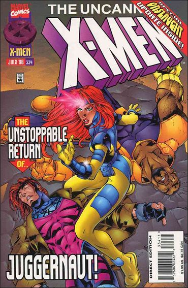 Uncanny X-Men (1981) 334-A by Marvel