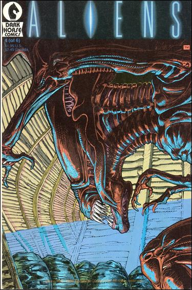 Aliens (1988) 4-B by Dark Horse