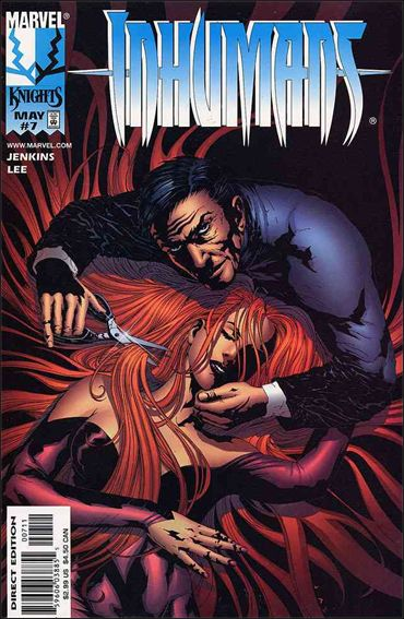 Inhumans (1998) 7-A by Marvel