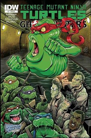 Teenage Mutant Ninja Turtles / Ghostbusters 1-E