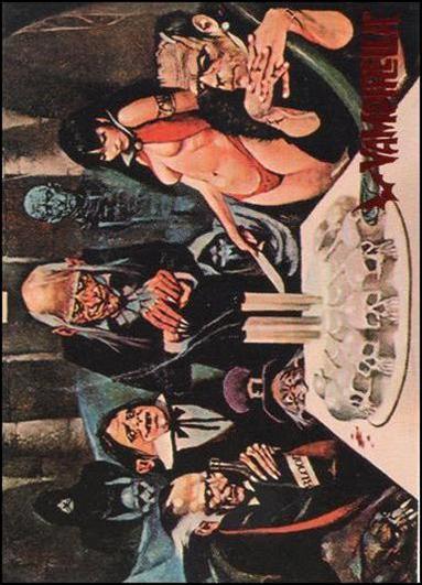Visions of Vampirella 6-A by Topps