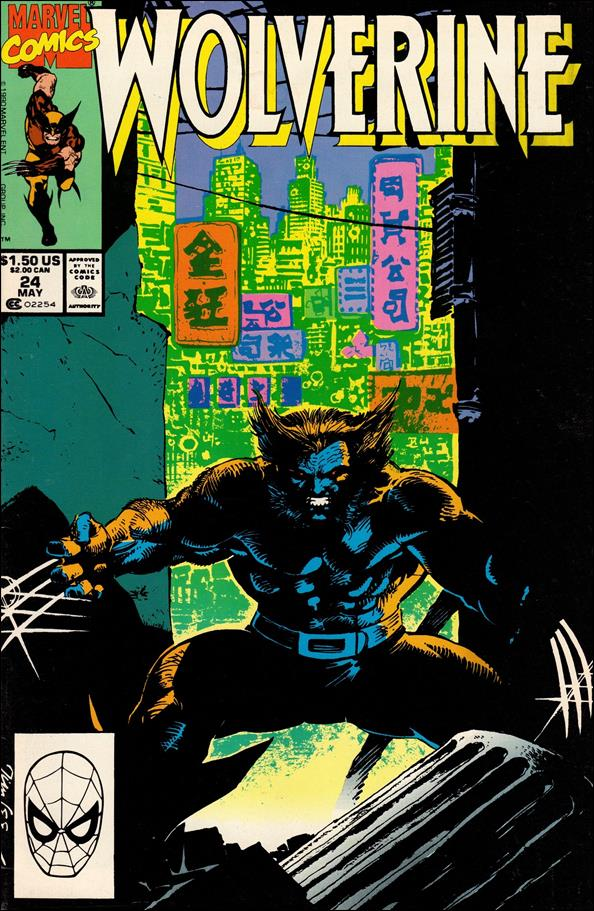 Wolverine (1988)  24-A by Marvel