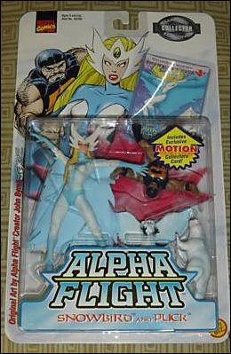 Alpha Flight 2-Packs Snowbird and Puck by Toy Biz
