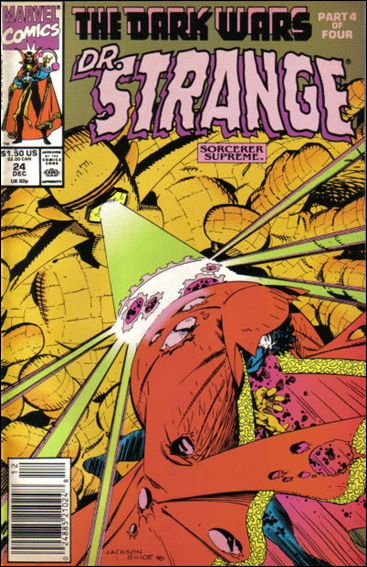 Doctor Strange, Sorcerer Supreme 24-A by Marvel