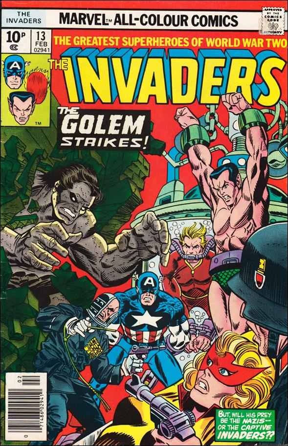 Invaders (1975) 13-B by Marvel