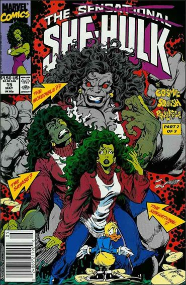 Sensational She-Hulk 15-A by Marvel