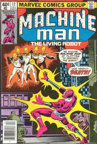 Machine Man (1978) 12-A by Marvel