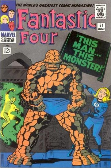Fantastic Four (1961) 51-C by Marvel