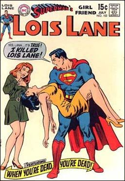 Superman's Girl Friend Lois Lane 102-A by DC