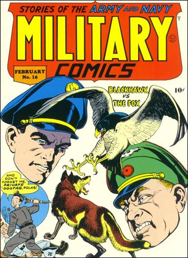Military Comics 16-A by Comic Magazines