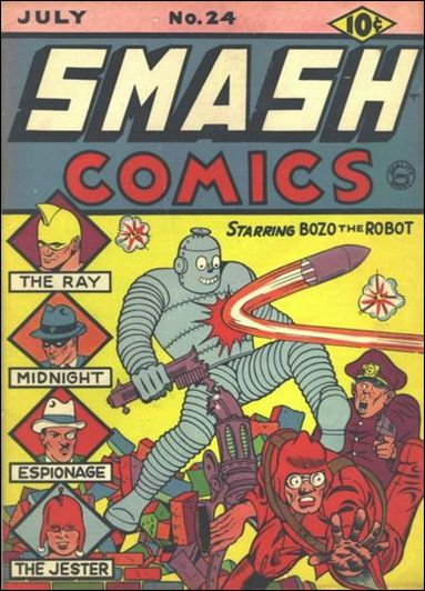 Smash Comics (1939) 24-A by Quality