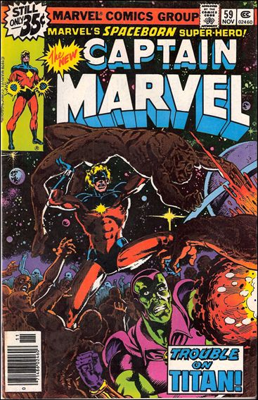 Captain Marvel (1968) 59-A by Marvel