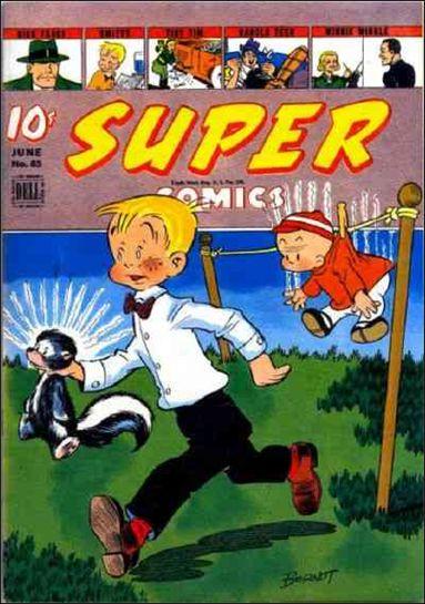 Super Comics (1938) 85-A by Dell