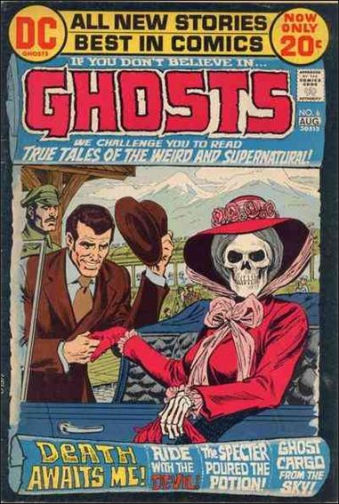 Ghosts (1971) 6-A by DC