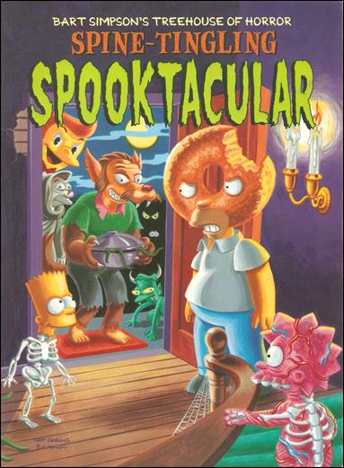 Bart Simpson's Treehouse of Horror Spine-Tingling Spooktacular 1-A by Bongo