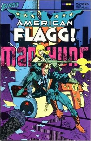 American Flagg! (1983) 20-A