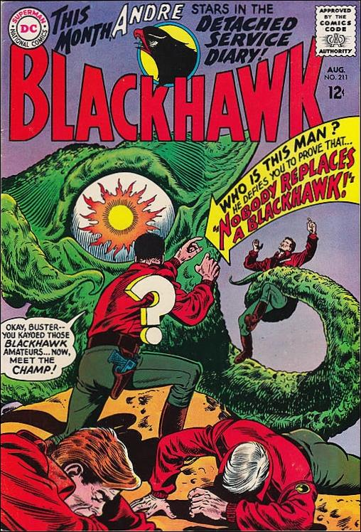 Blackhawk (1944) 211-A by DC