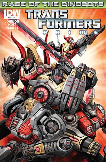 Transformers Prime: Rage of the Dinobots 1-A by IDW