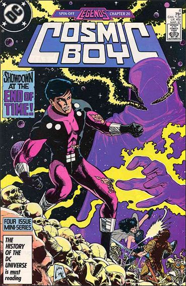 Cosmic Boy 4-A by DC