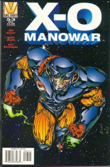 X-O Manowar (1992) 53-A by Valiant