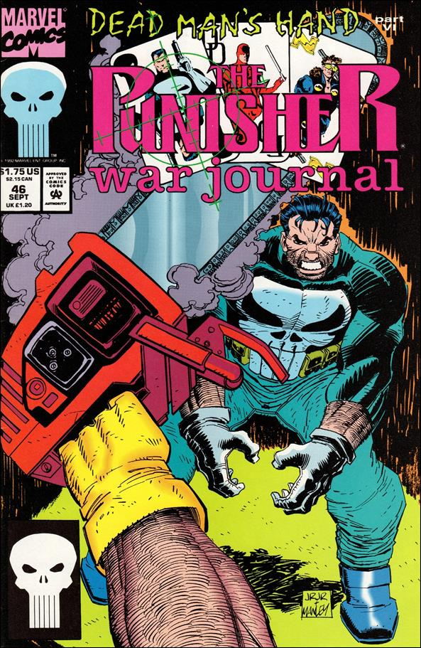 Punisher War Journal (1988) 46-A by Marvel