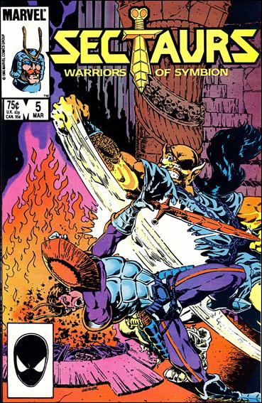 Sectaurs (1985) 5-A by Marvel