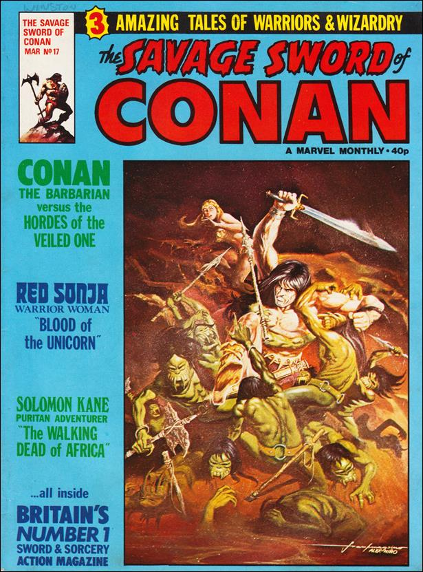 Savage Sword of Conan (UK) (1977) 17-A by Marvel UK