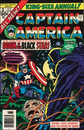 Captain America Annual 3-A