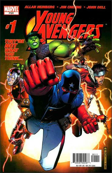 Young Avengers (2005) 1-A by Marvel
