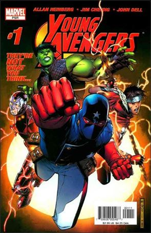 Young Avengers (2005) 1-A